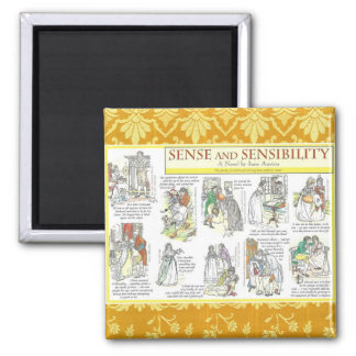 Sense and Sensibility Magnet