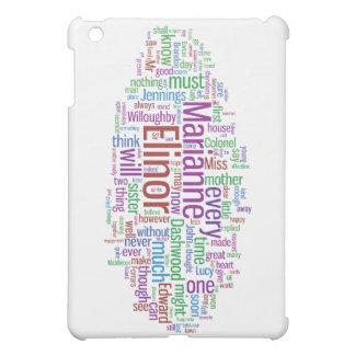 Sense and Sensibility Word Cloud iPad Mini Cover