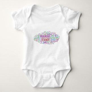 Sense and Sensibility Word Cloud T-shirt