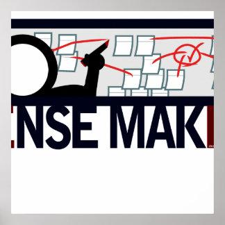 Sense Maker Poster