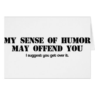 Sense of Humor Card
