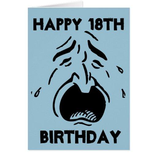 Sense Of Humor, Happy 18th Birthday Card