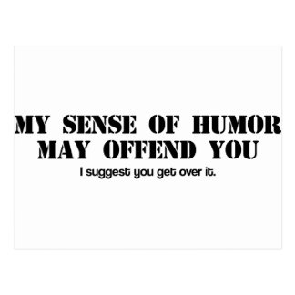 Sense of Humor Postcard