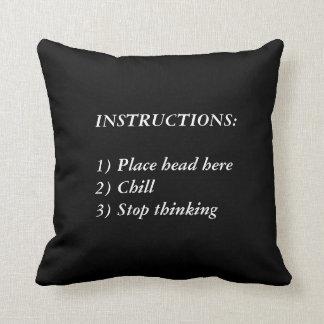 Sense of Humour Throw Pillow