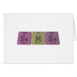 Sense-Se-N-Se-Selenium-Nitrogen-Selenium.png Tarjeta De Felicitación