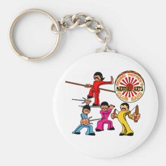 Sensei Peppers Martial Arts Club Band Key Chains