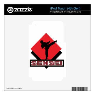 Sensei red diamond gift iPod touch 4G decal