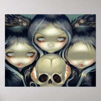 Senseless Prophecy ART PRINT witch pop surrealism