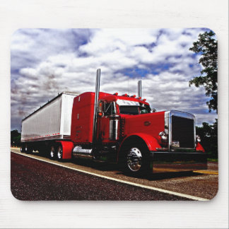 Sensenig Red Peterbilt 379 Mousepad