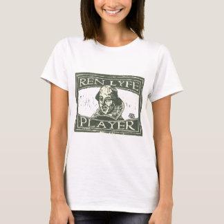 Senseshaper Woodcut: Ren Lyfe Player- Shakespeare T-Shirt