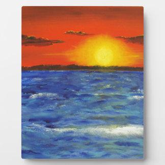 Senset Painting5000.JPG Photo Plaque