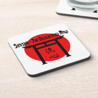 Senshin - The Enlightened Mind Martial Arts Blog Beverage Coaster