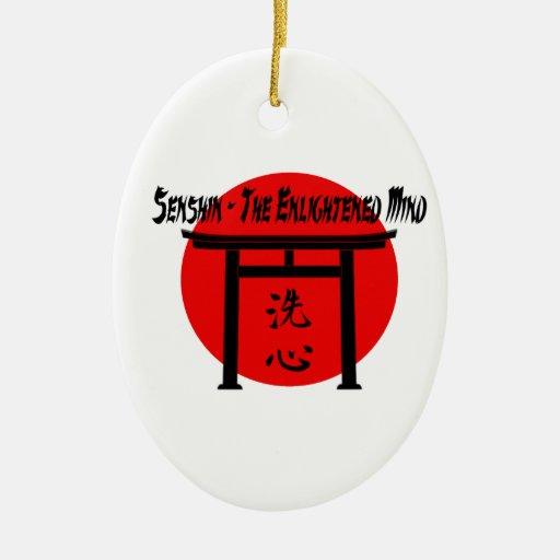 Senshin - The Enlightened Mind Martial Arts Blog Christmas Ornament