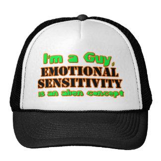 ¡Sensibilidad emocional masculina! Gorro