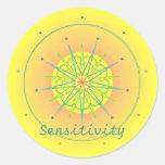 Sensibilidad (pegatina de la virtud)