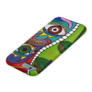 sensible colorido abstracto funda de iPhone 6 tough