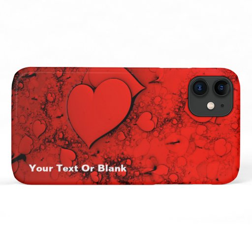Sensitive Hearts iPhone 11 Case
