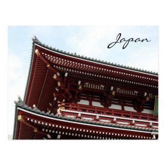 sensō-ji corner postcard