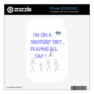 Sensory-Diet Decal For The iPhone 3G
