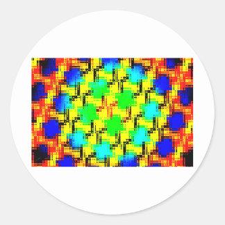 Sensory Overload Classic Round Sticker