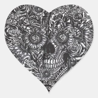 Sensory Overload Heart Sticker