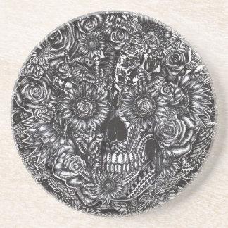 Sensory Overload Skull Drink Coaster