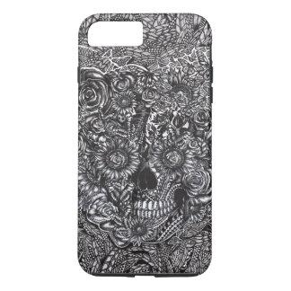 Sensory overload skull iPhone 8 plus/7 plus case