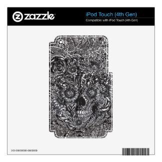 Sensory Overload Skull iPod Touch 4G Skins