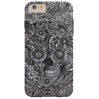 Sensory overload skull tough iPhone 6 plus case
