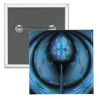 Sensory Perception 2 Inch Square Button