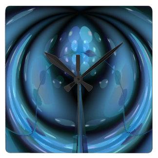 Sensory Perception Square Wall Clock