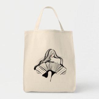 Sensual Bandoneon Tote Bag