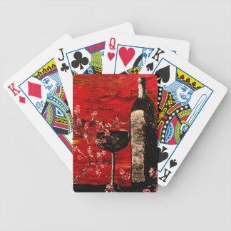 Sensual Bicycle Playing Cards