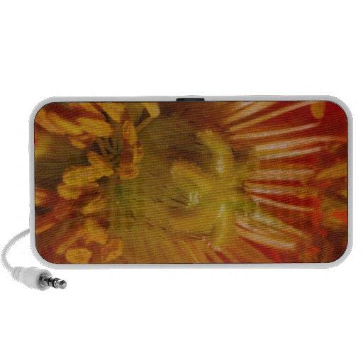 Sensual Heart of Flower Pollen Laden : Greetings iPhone Speakers