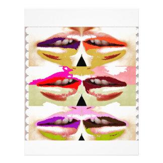 SENSUAL Lips Kiss GIFTS BoyFriend Date Romance fun Letterhead