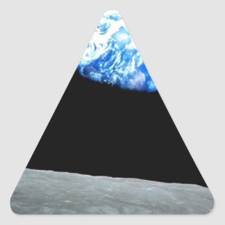 Sensual MOON night : Ideal add Greeting Text Triangle Sticker