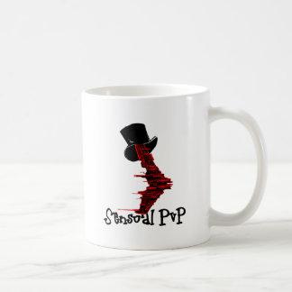 Sensual PvP (Perhaps Non-Con) Classic White Coffee Mug