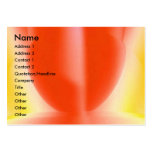 Sensual Red Business Card
