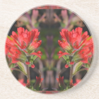 Sensual Red Exotic Flowers - Welcome Home Gifts 99 Coaster