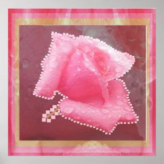 Sensual Rose Flower Show Print