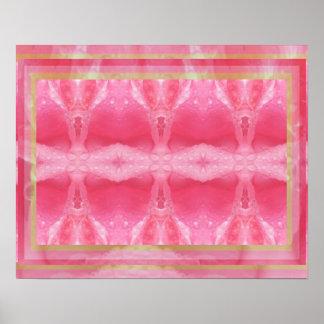Sensual Rose Petal CRYSTAL Art Print