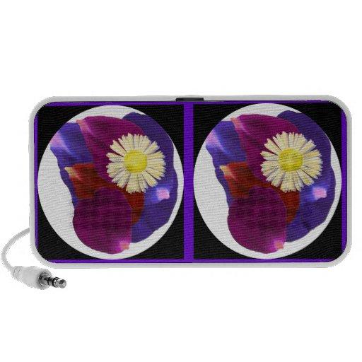 Sensual Rose Petals : Floral Flower Arrangement Speaker System