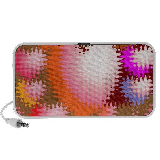 Sensual Tickle Heart Wave Pattern Mini Speaker