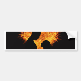 Sensuous Love Bumper Sticker