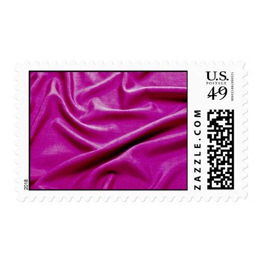 Sensuous pink postage stamps