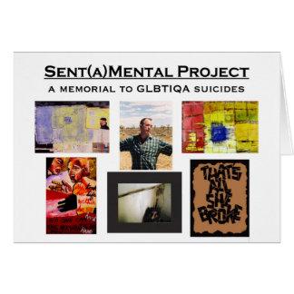 Sent(a)Mental Project Card