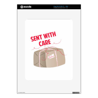 Sent With Care Skin For iPad