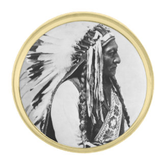 Sentada Bull, Hunkpapa Siux Insignia Dorada
