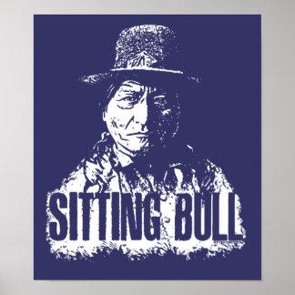 Sentada Bull Impresiones