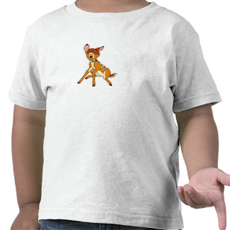 sentada de Bambi del bebé Camiseta